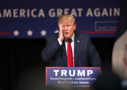 Trump Facepalm